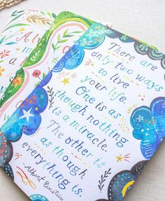 5x7 Greeting Card Set  Gratitude by thewheatfield on Etsy, $17.00