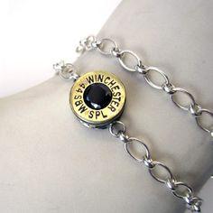 Bullet bracelet! I love weapon jewelry
