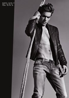 Jon Kortajarena for Armani Jeans Fall 2011