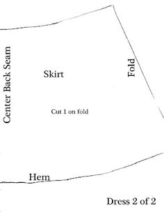 My Cup Overflows: American Girl Dress Pattern with lots of instructions and pictures