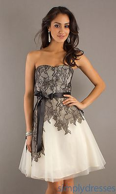 Lace Overlay Dress by Max & Cleo BC-MGZ6Q975-104