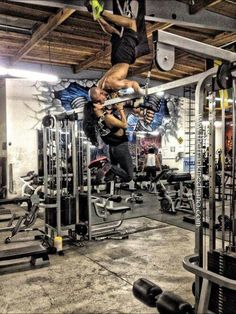 Couples who workout together...