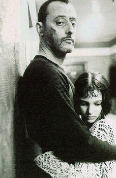 Jean Reno and Natalie Portman -  Leon, 1994. S)