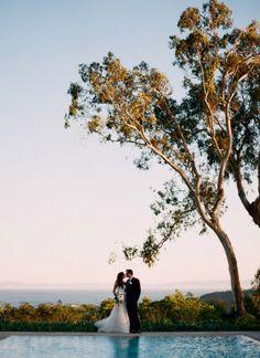 A beautiful Santa Barbara wedding at Belmond El Encanto via @grnribbon