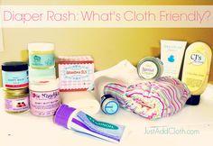Diaper rash cream, what is cloth diaper friendly