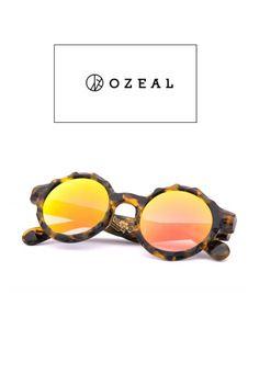 Tortoiseshell Round Sunnies