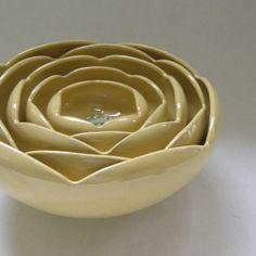 Ranunculus Rose Bowls