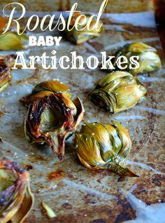 Roasted Baby Artichokes