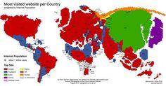 The virtual world divided