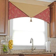 Cornice ideafor kitchen windows