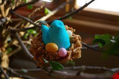 easter bird nest snacks