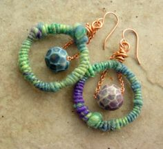 Earrings by Lisa Liddy
