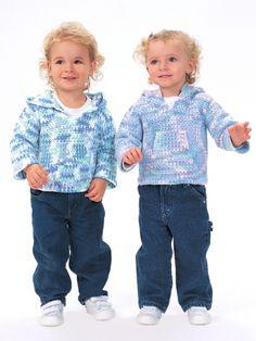 Cozy Hoodies | Yarn | Free Knitting Patterns | Crochet Patterns | Yarnspirations