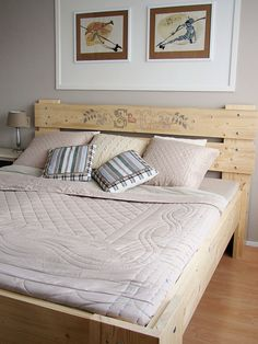 Modern Bed Cross Stitch