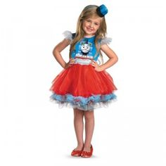 Thomas & Friends Frilly Thomas Toddler Costume