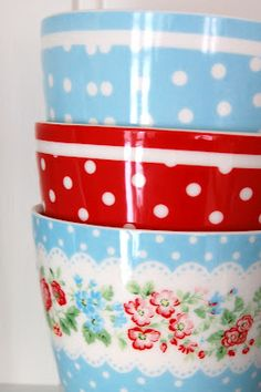GreenGate blue & red