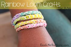 rainbow loom crafts for kids (project ideas and tutorial videos)