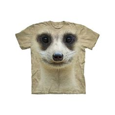 Meerkat Face Tee Youth now featured on Fab.