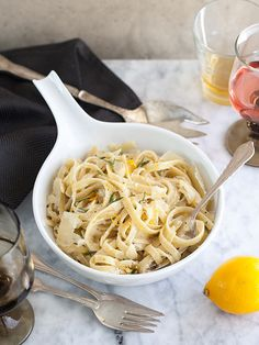 Meyer Lemon Fettuccine
