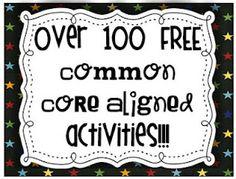 common core activities, common core standards, phonemic awareness, common core ela, phonics activities