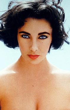 Elizabeth Taylor by Richard Avedon