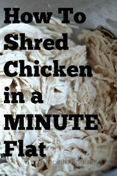 How to Shred Chicken 7 Different