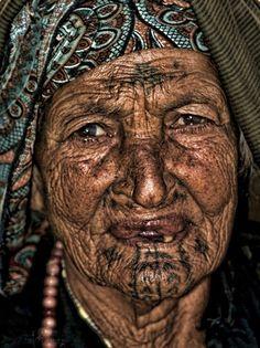 old Romani gypsy fortune teller