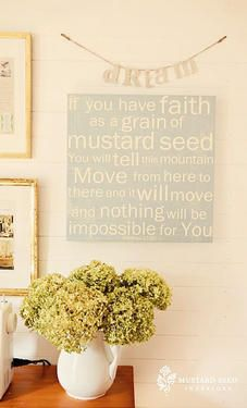 Mustard Seed Faith - Red Letter Words