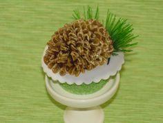 Jelly Bean pinecone Cupcakes