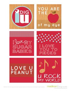 14 Days of Valentines printables