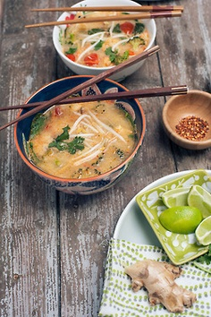 coconut veggie soup