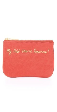 Another cute one from Rebecca Minkoff. I think I say this everyday!