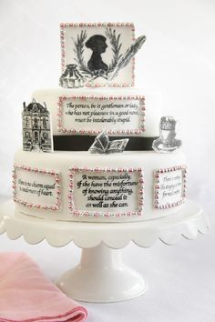 Jane Austen birthday cake!