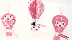Hot Air Balloon Valentine Tutorial | #kidgiddy #craft #nosew #Phoomph