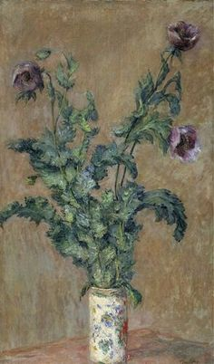 Claude Monet / Vase de pavots / 1883