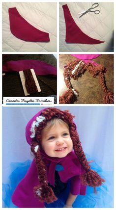 Anna Wig Tutorial_Easy FROZEN costume #halloween #Frozen copy