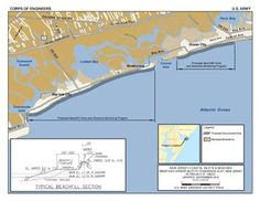 The Great Egg Harbor Inlet to Townsends Inlet project calls for construction of a beachfill with a berm and dune in the municipalities of Ocean City, Upper Township, and Sea Isle City.  courtesy US Army Corps of Engineers