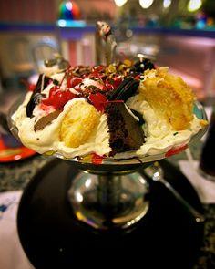 ice cream sundae with...everything on top.