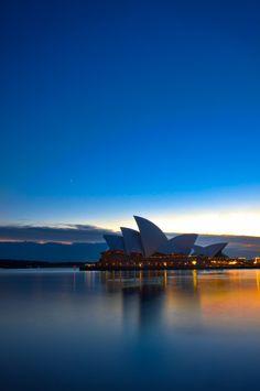 Sydney Harbour Sunrise, Australia
