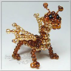 Beaded Little Dragon PATTERN 3D