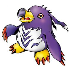 Penguinmon - Rookie level Bird digimon