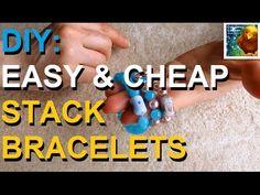 DIY: Stack Bracelets