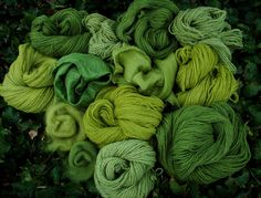 green naturally dyed goodness by Jardarmama