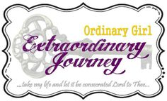 A blog post about anxiety, changes and Jesus {Ordinary Girl, Extraordinary Journey}