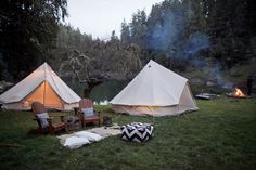 Shelter Co. is a pop up lodging service that sets up glamping tents in the outdoors for you and your group--CA locations