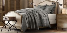 Furniture   Restoration Hardware...bedding