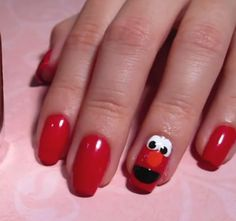 Elmo! My little girl would love this!