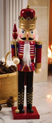 Christmas Holiday Wooden Toy Soldier Nutcracker