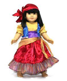 Another great find on #zulily! Esmeralda Gypsy Doll Outfit #zulilyfinds