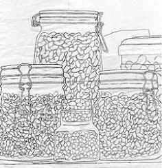 Still Life with Legumes Tutorial art inspir, oil paintings, oil watercolor, watercolor tutori, art idea, kid art, artdraw lesson, art techniqu